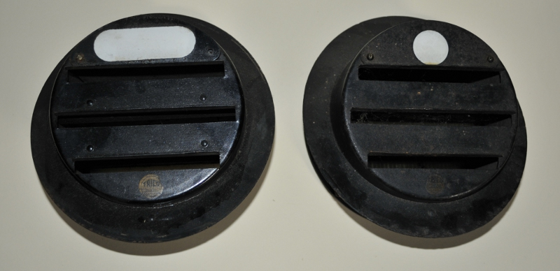 The government designed three slot pattern mask with sidelight apertures